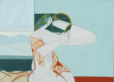 Gerhard gutruf - Nuda allo specchio ...
